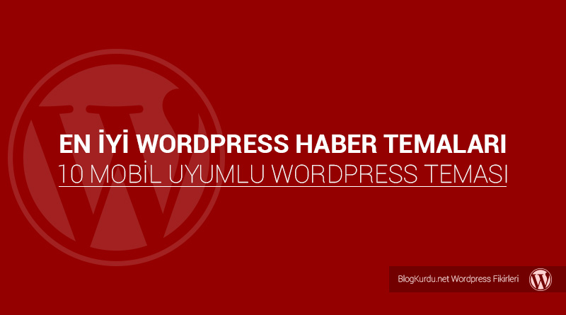 Wordpress Haber Teması