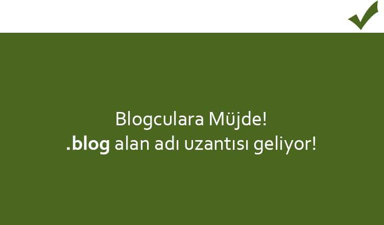 .blog domain uzantısı