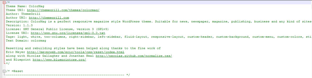 wordpress tema adını değiştirme