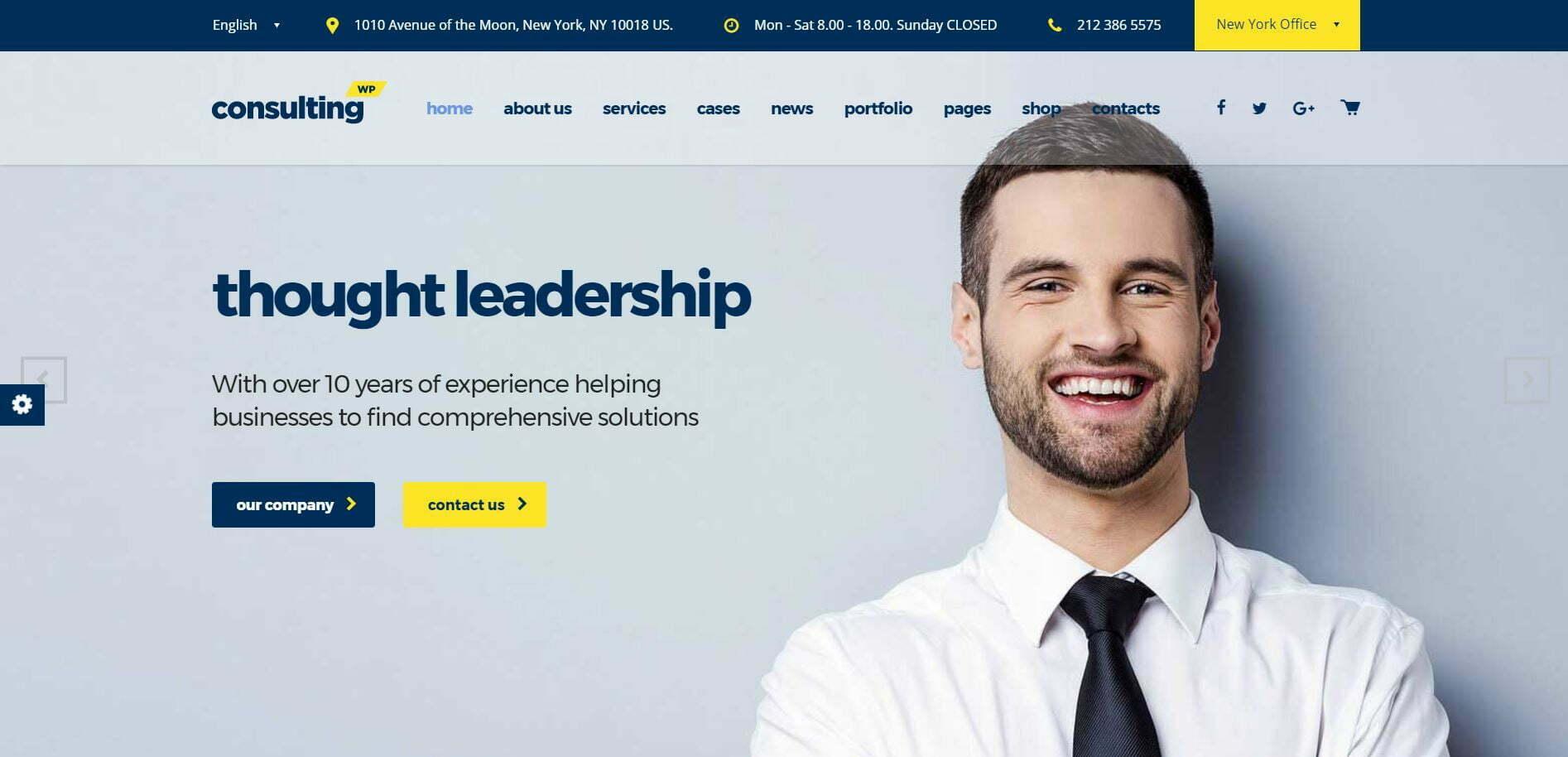 Kurumsal Wordpress Teması Consulting