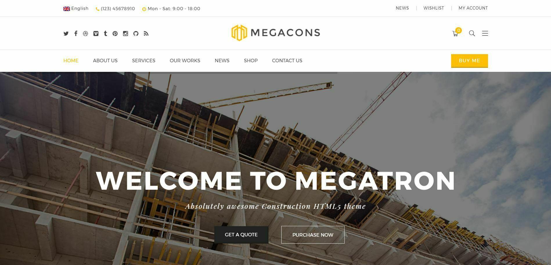 Kurumsal Wordpress Teması Megatron