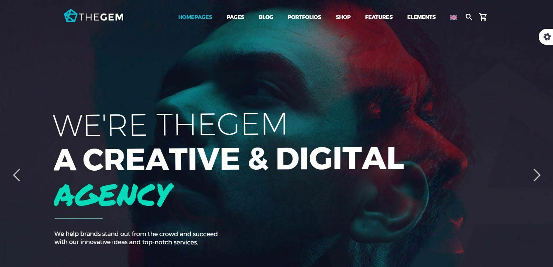 Kurumsal Wordpress Teması TheGem