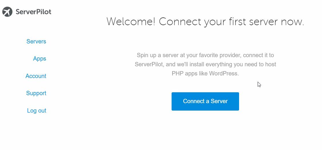 Serverpilot sunucu ekleme