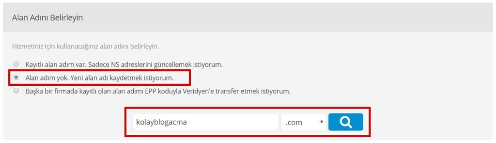 Blog nasıl açılır? Domain ekleme