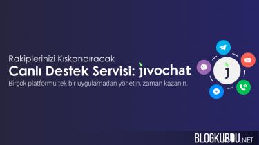 Jivochat canlı destek sistemi