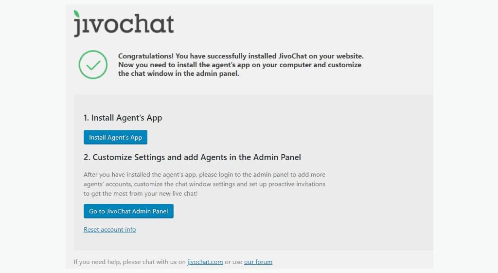 Jivochat WordPress canlı destek sistemi